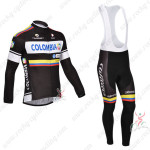 2013 Team Colombia Pro Cycling Long Bib Kit