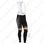 2013 Team Colombia Pro Cycling Long Bib Pants
