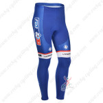 2013 Team FDJ Cycling Long Pants Blue