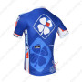 2013 Team FDJ Pro Bike Jersey Blue