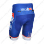2013 Team FDJ Pro Bike Shorts Blue
