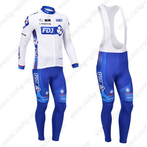 2013 Team FDJ Pro Cycle Long Bib Kit