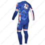 2013 Team FDJ Pro Cycle Long Kit Blue