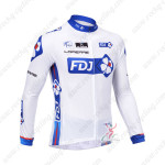 2013 Team FDJ Pro Cycling Long Sleeve Jersey