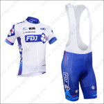 2013 Team FDJ Pro Riding Bib Kit