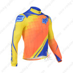 2013 Team FOX Pro Bicycle Long Sleeve Jersey Orange