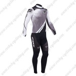 2013 Team FOX Pro Cycling Long Kit Grey