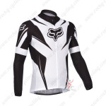 2013 Team FOX Pro Cycling Long Sleeve Jersey Black