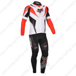 2013 Team FOX Pro Cycling Long Sleeve Jersey Kit Red