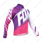 2013 Team FOX Pro Cycling Long Sleeve Jersey Purple
