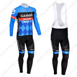2013 Team GARMIN Pro Cycling Bib Kit Blue