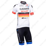 2013 Team GARMIN SHARP Cycling Kit White