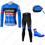 2013 Team GARMIN SHARP Cycling Long Suit+Gears