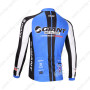 2013 Team GIANT Pro Bike Jersey Black Blue