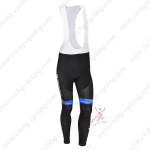 2013 Team GIANT Pro Cycling Bib Pants Black Blue