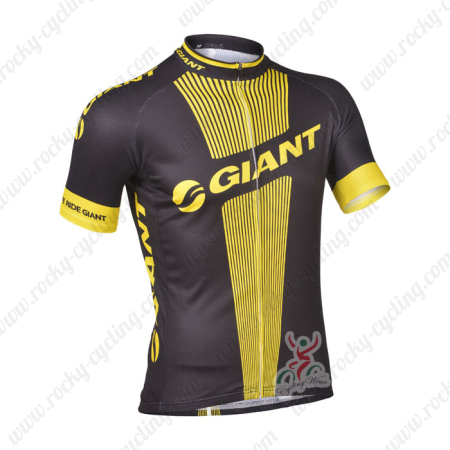 2013 Team GIANT Pro Cycling Jersey Black Yellow2013 Team GIANT Pro Cycling  Jersey Black Yellow f7da15621