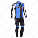 2013 Team GIANT Pro Cycling Long Kit Black Blue