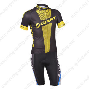 2013 Team GIANT Pro Racing Bib Kit Black Yellow