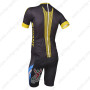 2013 Team GIANT Pro Riding Bib Kit Black Yellow