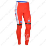 2013 Team KATUSHA Pro Cycling Long Pants Red