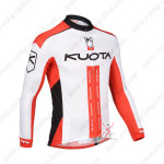 2013 Team KUOTA Cycling Long Sleeve Jersey