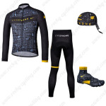 2013 Team LIVESTRONG Cycling Long Suit+Gears Black