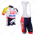 2013 Team LOTTO BELISOL Pro Cycling Bib Kit