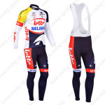 2013 Team LOTTO BELISOL Pro Cycling Long Bib Kit