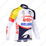 2013 Team LOTTO BELISOL Pro Cycling Long Sleeves Jersey