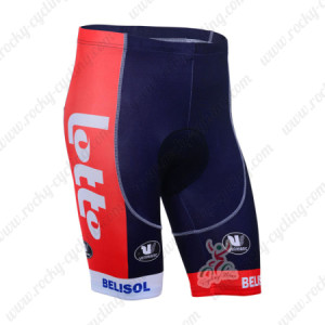 2013 Team LOTTO BELISOL Pro Cycling Shorts