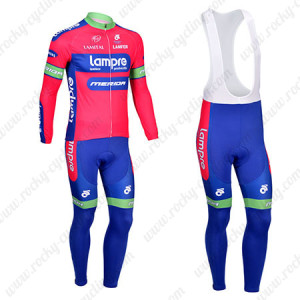 2013 Team Lampre Merida Pro Cycling Long Bib Kit