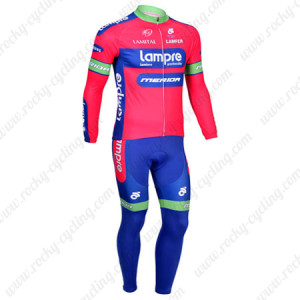 2013 Team Lampre Merida Pro Cycling Long Kit