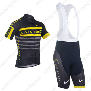 2013 Team Livestrong Cycling Bib Kit