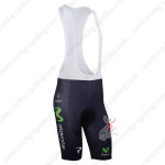2013 Team Movistar Cycling Bib Short Pants