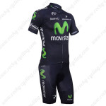 2013 Team Movistar Cycling Kit Dark Blue