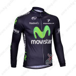 2013 Team Movistar Pro Cycling Long Jersey