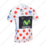 2013 Team Movistar Pro Cycling Polka Dot Jersey