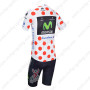 2013 Team Movistar Pro Cycling Polka Dot Jersey Kit