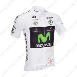 2013 Team Movistar Pro Cycling White Jersey