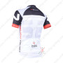 2013 Team NALINI Biking Jersey Black White Grey