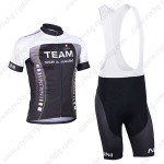 2013 Team NALINI Cycling Bib Kit Black Green Lines