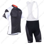 2013 Team NALINI Cycling Bib Kit Black White