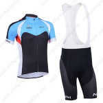 2013 Team NALINI Cycling Bib Kit Blue Black