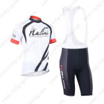 2013 Team NALINI Cycling Bib Kit White