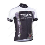 2013 Team NALINI Cycling Jersey Black Green Lines
