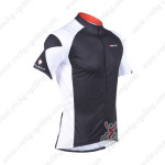 2013 Team NALINI Cycling Jersey Black White