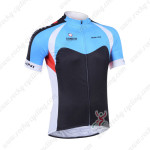 2013 Team NALINI Cycling Jersey Blue Black