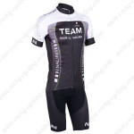 2013 Team NALINI Cycling Kit Black Green Lines