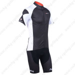 2013 Team NALINI Cycling Kit Black White