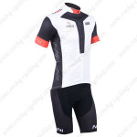 2013 Team NALINI Cycling Kit White Black